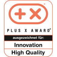 Plus X Award - Innovation - Hight Quality